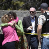 One person killed and three injured as gunman opens fire in US synagogue