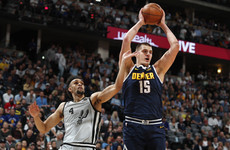 Jamal nails 23 points as Nuggets edge Spurs in game seven to reach second round
