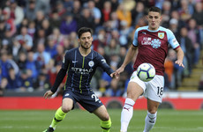 As it happened: Burnley v Man City, Premier League