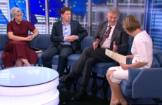 Peter Casey challenged over immigration during European elections tv debate