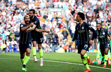 Man City edge closer to reclaiming Premier League title as Aguero strike sees off Burnley