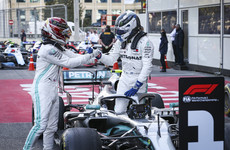 Mercedes make history as Bottas leads Hamilton home in Baku
