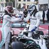 Mercedes make history as Bottas leads Hamilton home in Baku