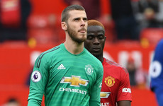 'Nobody can blame De Gea' - Solskjaer backs his out-of-form 'keeper