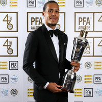 Van Dijk beats Sterling to PFA Player of the Year award