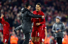 'It's the highest honour you can get' - Van Dijk hails Klopp after landing 'unbelievable' award