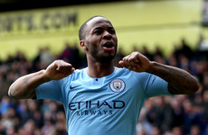 Sterling wins Football Writers' Association Player of the Year by overwhelming majority