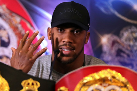 Anthony Joshua has the final say on who he will face on June 1.