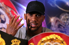 Joshua opponent to be revealed on Tuesday, says Barry Hearn