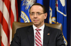 US Deputy Attorney General Rod Rosenstein is stepping down