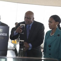 How to... sip a pint of Guinness if you're the King of Lesotho