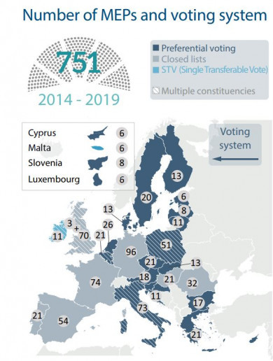 European elections: What constituency am I in? Who can I