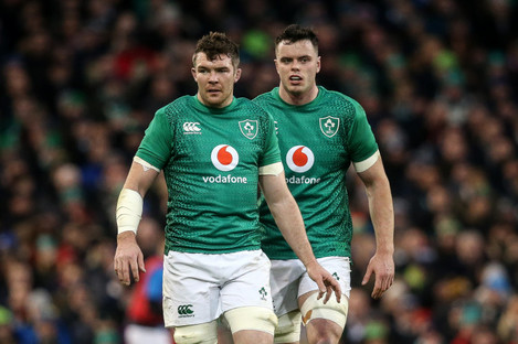 Peter O'Mahony and James Ryan are up for award.