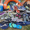 Runners and flip flops keep washing up on the west coast of Ireland