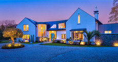 Live the luxe life in this €2.75m mansion with its own bar, golf course and sauna