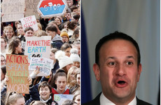 'Be the hero, not the villain': Protesting students wrote to Taoiseach urging him to take climate action
