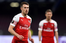 Ramsey ruled out for the rest of the season as Arsenal career ends in Naples