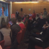 'Have you a job? Have you a job?' - Tense exchanges as FG Cork meeting disrupted by protesters