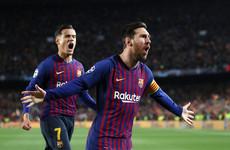 4484a494da0 Messi scores double as Barca break Liverpool hearts in Champions League  semi-final