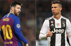 Ronaldo will be 'fired up' by Messi's success