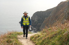 Meet the 74-year-old trekking across the UK and Ireland for free transport for cancer patients