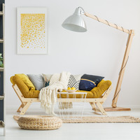 Lighting up: 6 statement floor lamps that will transform your living room