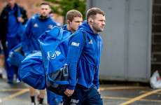Leinster without McFadden for run-in after six-week ban for headbutt