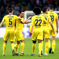 Pedro hits crucial away goal but Chelsea held by underdogs Frankfurt
