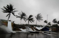 Mass evacuations as biggest tropical storm in decades hits India