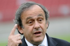 Platini: Spurs should have finished third if they wanted Champions League football
