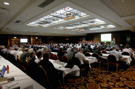 A general view of the FAI AGM in 2014.