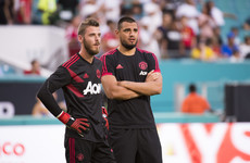 Man United to stick with out-of-sorts De Gea as number two Romero suffers injury