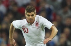 Gerrard: England expectations are down, more realistic