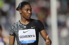 Semenya wins Doha 800m in last race before testosterone regulations come into effect