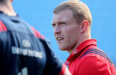 Further setback for Earls as Munster winger pulls out of Pro14 quarter-final