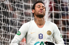 'Sad' Neymar sensitive to what is said about him, says PSG boss