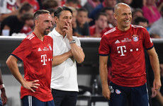 Veteran wingers return as Bayern Munich close in on Bundesliga title