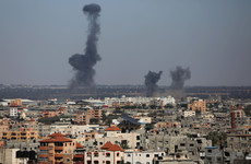 Baby killed as Israel launches air strikes after rockets fired from Gaza