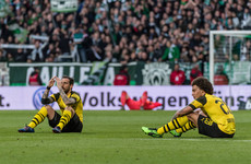 Goalkeeping howler and Dortmund collapse leaves Bayern on brink of seventh successive title
