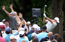 Birthday 68 keeps McIlroy hot on the heels of leaders at Quail Hollow