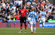 United's top four hopes ended with wretched draw at relegated Huddersfield