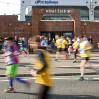 Runners in Belfast City Marathon run extra 0.3 miles after course mix-up