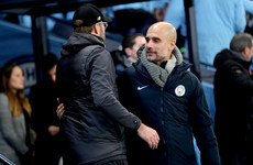 Guardiola hails Klopp's Liverpool as one of the best teams he's faced