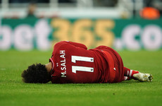 Huge blow for Liverpool as Salah ruled out of Barcelona clash with concussion