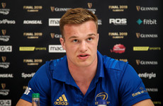 Van der Flier on course to make remarkable return for Pro14 semi-final