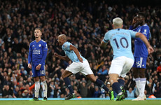 Vincent Kompany thunderbolt sees Man City take massive step towards Premier League glory