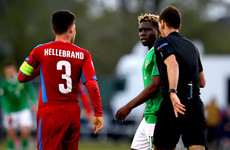 Ireland boss looks to appeal red card after Czech captain 'cheated the game'