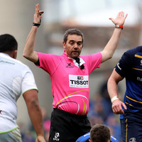 Leinster not over-analysing Garcès' 'slightly different' refereeing style