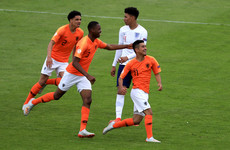 Netherlands hit five past England to reach quarter-finals while Belgium see off Greece