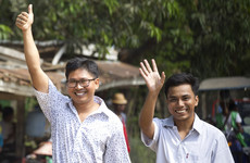 Reuters journalists jailed in Myanmar for 500 days have been released